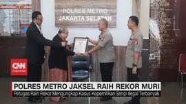 VIDEO: Polres Metro Jaksel Raih Rekor Muri