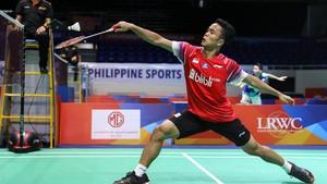 Hasil Toyota Thailand Open: Ginting Gagal ke Perempat Final