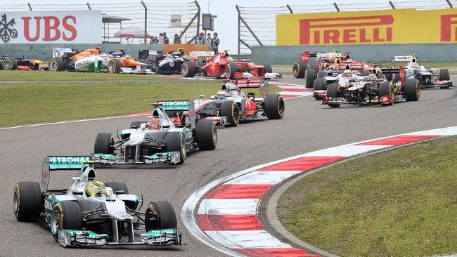 Balapan Formula 1 (F1) Grand Prix China 2021 batal dari jadwal semula karena pandemi virus corona atau Covid-19 yang masih berlangsung.