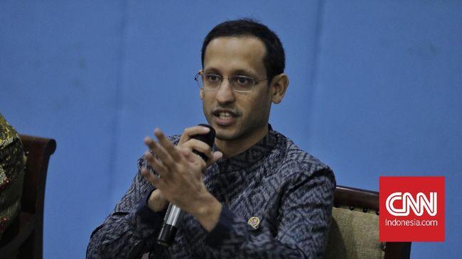 Mendikbud Nadiem Makarim mengibaratkan pandemi Covid-19 sebagai ledakan awal mula kebangkitan pendidikan Indonesia.