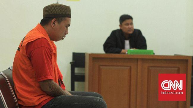 Kurir 20 kg sabu dan 18.800 butir ekstasi, Michael Kosasih divonis hukuman mati oleh hakim PN Palembang dan langsung menyatakan banding.