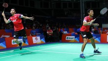 Fajar/Rian Bawa Indonesia Unggul 2-0 di Final Thomas Cup
