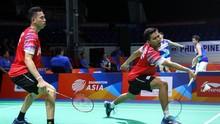 Hasil Toyota Thailand Open: Fajar/Rian Kandas di Babak Awal