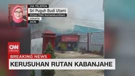 VIDEO: Kerusuhan Terjadi di Rutan Kabanjahe