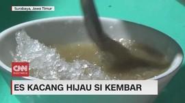 VIDEO: Segarnya Es Kacang Hijau Si Kembar