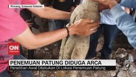 VIDEO: Patung Diduga Arca Ditemukan di Pinrang
