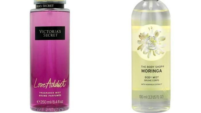 Lebih enak body mist Victoria Secret atau Body Shop?