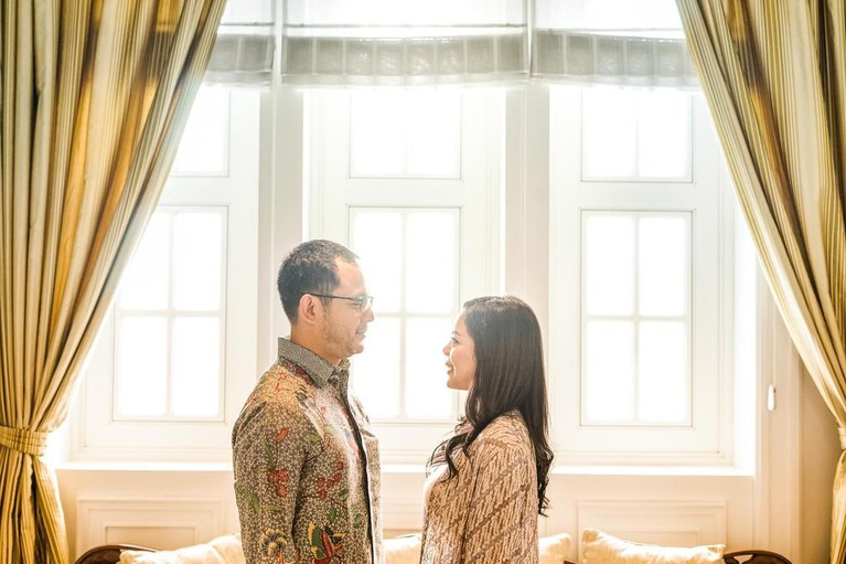 Danny Bimo Hendro Utomo akan menikahi tunangannya, Raiyah Chitra Caesaria pada Sabtu (15/2) mendatang di Hotel Mulia.