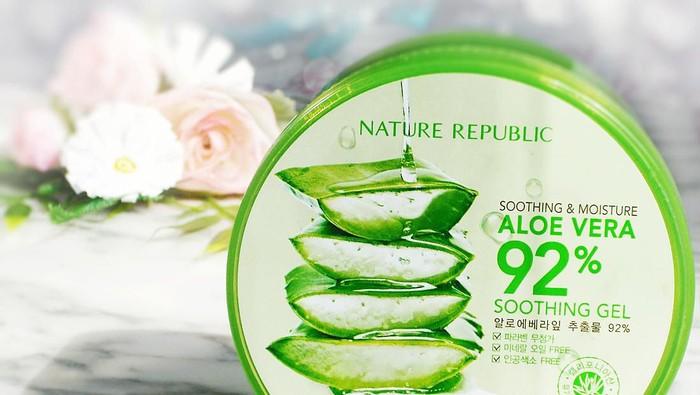 Makin Naik Daun, Nature Republic Aloe Vera Gel Sebagus Apa Sih?