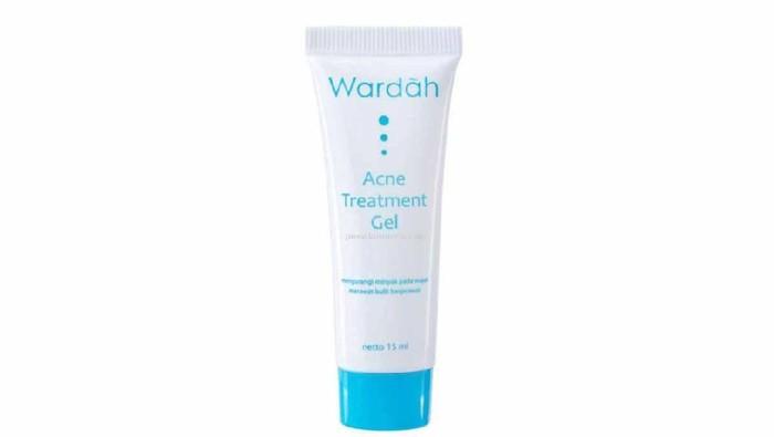 Wardah Acne Treatment Gel Efektif Gak Buat Menghilangkan Jerawat?