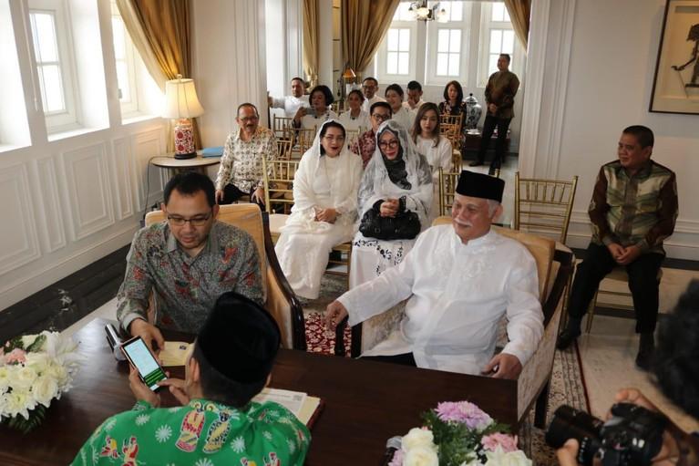 Pada Sabtu (15/2) mereka akan melangsungkan akad nikah pada pagi hari dan resepsi pada malam harinya.