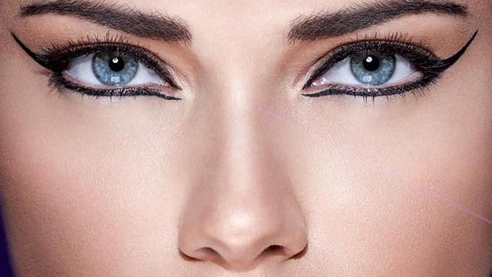 Eyeliner Pen Ultra Tipis untuk Makeup Mata Tajam dan Rapi