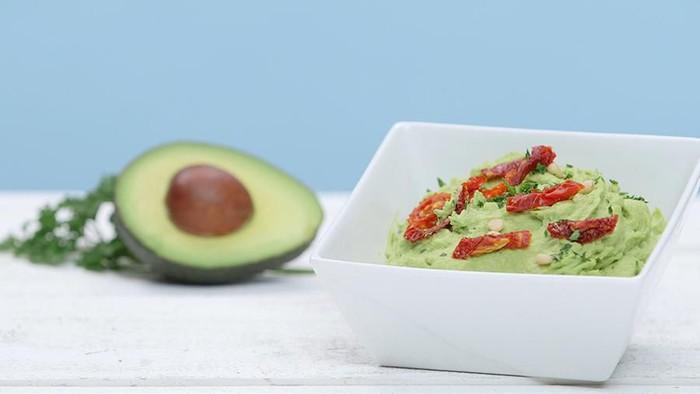 Dipping Sauce Avocado Alternatif Menu Diet Vegan