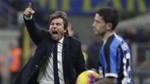 Conte Kesal Kartu Merah Bunuh Inter Lawan Real Madrid