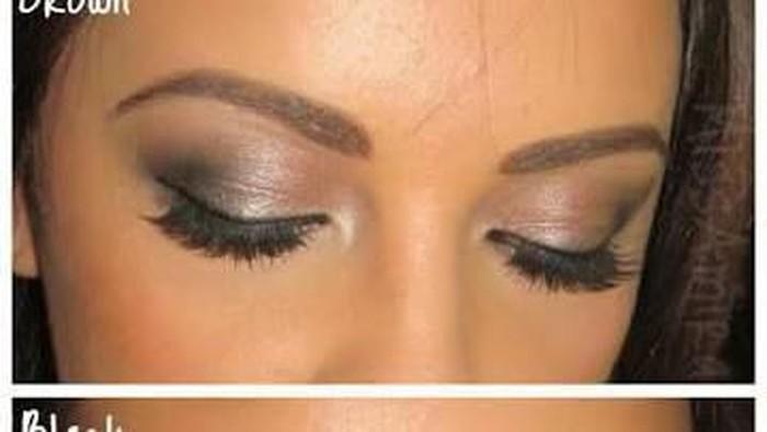 Buat anak muda lebih bagus eyebrow warna hitam atau cokelat?