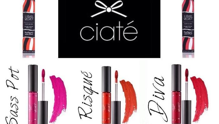 Ciate London- Liquid Velvet  Lipstik yang Mampu Melembapkan dengan Pigmentasi Tinggi