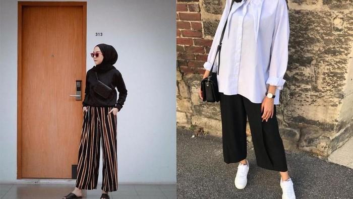 Biar Tetep Hits, Begini Trik Pakai Celana Kulot Buat Kamu yang Bertubuh Pendek