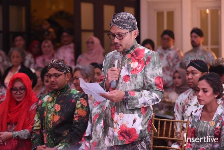 Putra ketiga Tutut Soeharto, Danny Rukmana baru saja mejalani prosesi adat bugis Makassar, Mappacci dengan Raiyah Chitra Caesaria.
