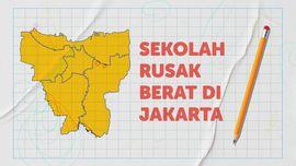 INFOGRAFIS: Jumlah Sekolah Rusak di Jakarta