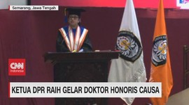 VIDEO: Ketua DPR Raih Gelar Doktor Honoris Causa