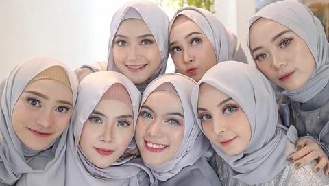 Begini Macam Macam Tutorial Hijab Pashmina Simple Yang Cocok Untuk Style Kondangan
