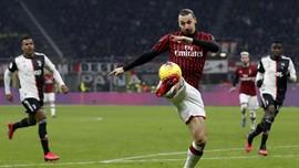 Juventus vs AC Milan, Pioli Siapkan Ibra Sebagai Ancaman