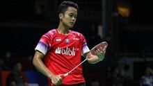 Hasil Yonex Thailand Open 2021: Ginting Gagal ke Final