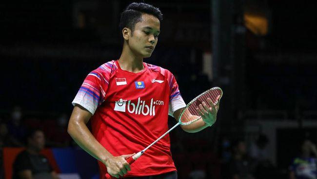 Tunggal putra Indonesia Anthony Ginting gagal ke final usai kalah dari wakil Denmark, Viktor Axelsen dalam pertandingan rubber game.