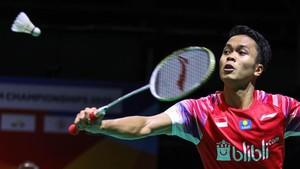 Ginting Usai Drawing BWF Tour Finals: Undian Berat