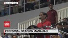 VIDEO: Jokowi Resmikan Stadion Manahan Solo