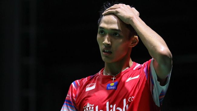 Jonatan Christie kalah dari Cheam June Wi.