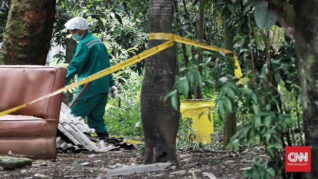 Pohon yang ditebang karena diduga terpapar zat radioaktif Perumahan Batan Indah, Serpong, Tangerang Selatan akan diganti pohon baru.