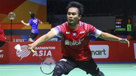 Ahsan Bermain dengan Rasa Sakit di Toyota Thailand Open
