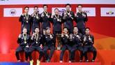 Beregu putra Indonesia juara BATC 2020 usai mengalahkan Malaysia 3-1, Minggu (16/2). Dengan gelar tersebut Indonesia hattrick di BATC.