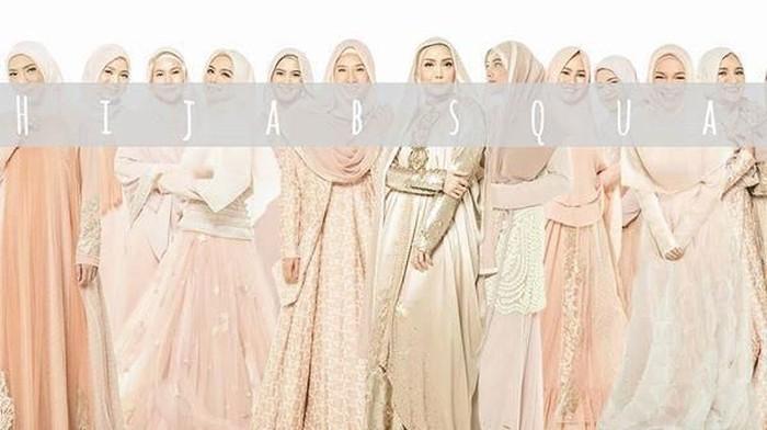 Bertema 'Hijab Squad', Ini Kumpulan Potret Artis Cantik Indonesia Berhijab