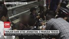VIDEO: Motor Terjun dari Atas Jembatan, 2 Pemuda Tewas