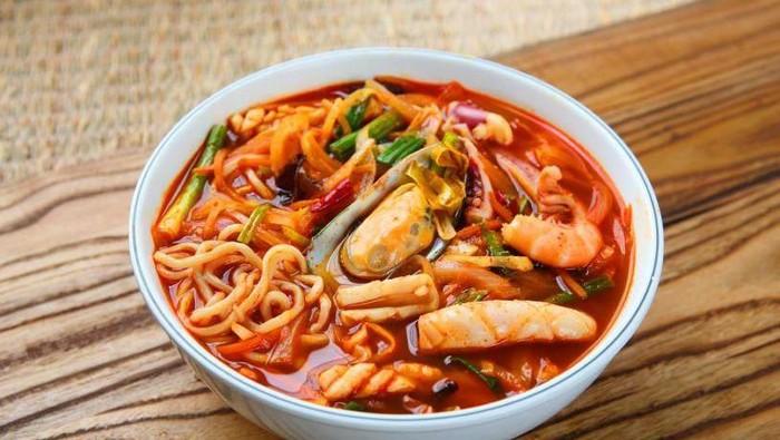Resep Jjampong, Mie Seafood Pedas Khas Korea