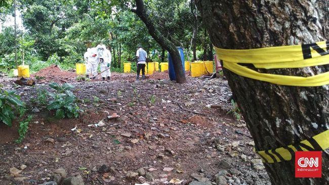 Kepala Batan menegaskan radioaktif di Perumahan Batan Indah bukan berasal dari reaktor nuklir GA Siwabessy di kawasan Puspiptek, Serpong.