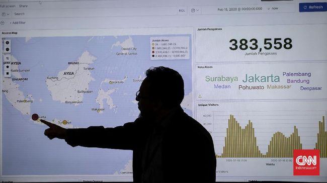 BPS menyebut sensus penduduk online sudah direspons 568 ribu orang dalam dua hari.