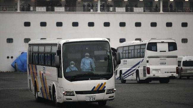 BNPB mengungkapkan rute perjalanan 69 WNI yang merupakan kru Diamond Princess dari Jepang hingga tiba di Pulau Sebaru Kecil.