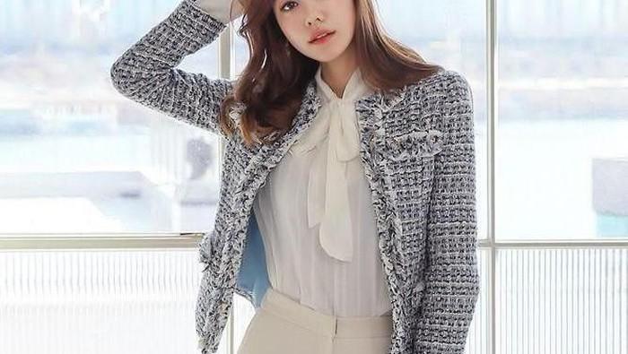 Elegan dan Vintage, Ini Inspirasi Styling dengan Jaket Tweed