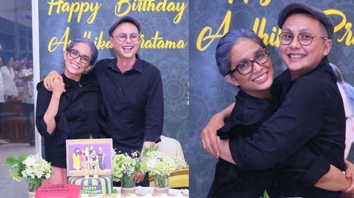 Merayakan Ulang Tahun ke-33, Andhika Pratama dan Istri Kompak Tampil ala Kakek-Nenek!