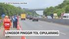 VIDEO: Tol Cipularang Aman Dilewati Usai Longsor