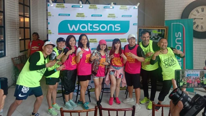 Keseruan Zumba Bareng Watsons Get Active Festival 3.0
