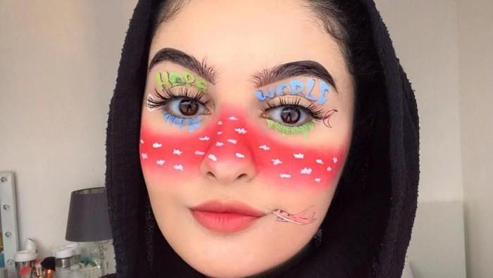Zainab Alzoubeidi, MUA Muda yang Terkenal dengan Makeup Karakter