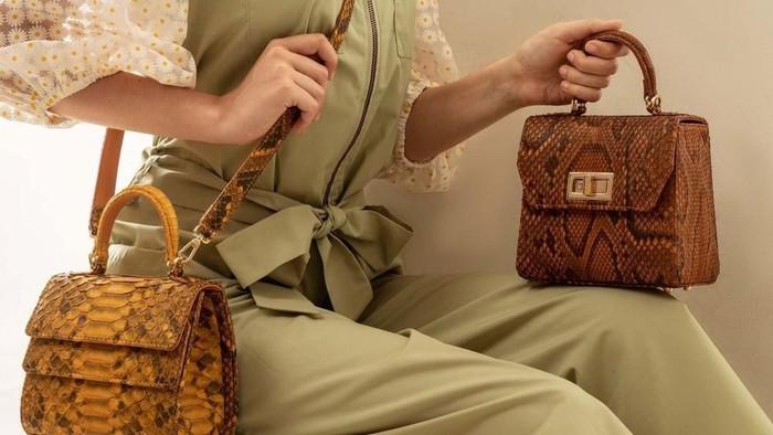 Kyra, Tas Brand Lokal Bahan Kulit Piton Asli dengan Desain Cantik!