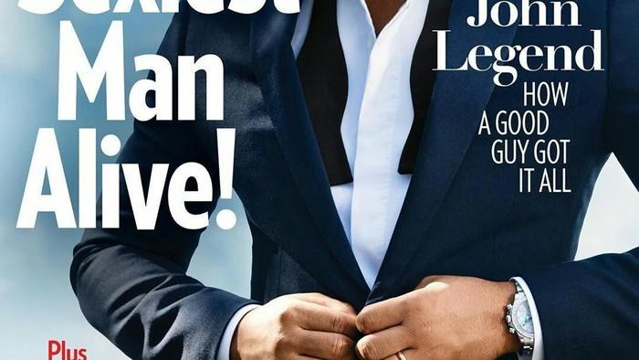 Mendapat Gelar Pria Terseksi Sedunia, Intip Gaya Berpakaian John Legend