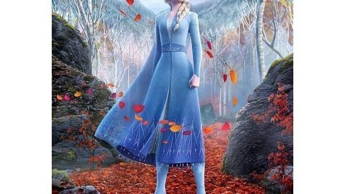 Bikin Bangga! Kostum Anna di Film Frozen 2 Karya Desainer Indonesia, Lho