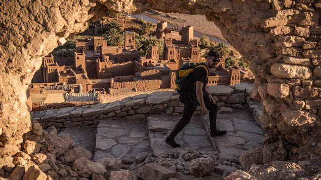 Desa kuno di Maroko ternyata menjadi lokasi syuting prekuel Game of Thrones: House of Dragon.