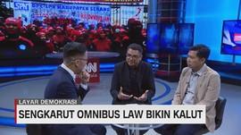 VIDEO: Draf Omnibus Law Seakan-Akan Disembunyikan